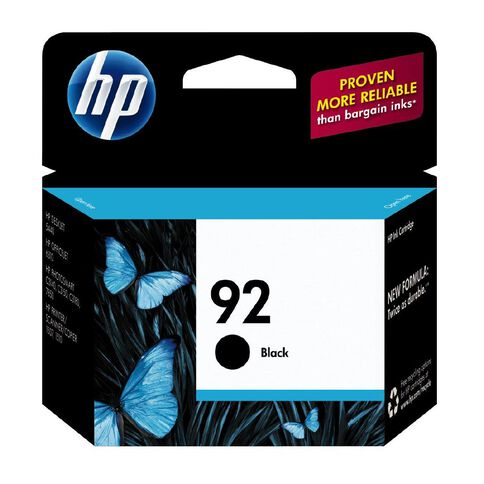 HP Ink 92 Black (220 Pages)