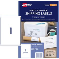 Avery Inkjet Labels J8167-50 Pack 50