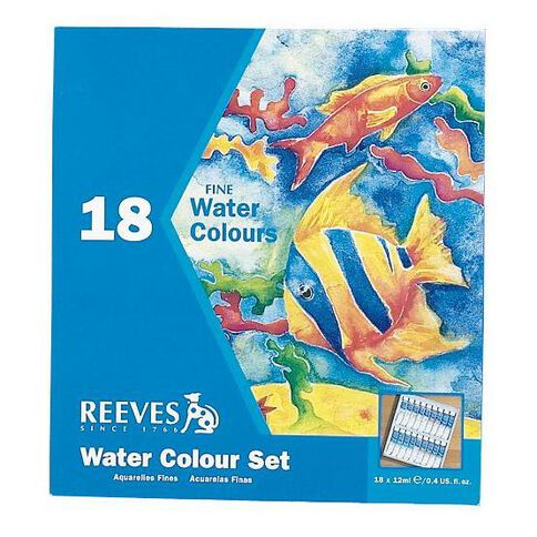 Reeves Watercolour Set 18 Tubes