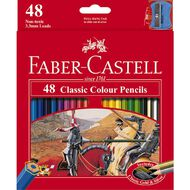 Faber-Castell Classic Colour Pencils 48 Pack