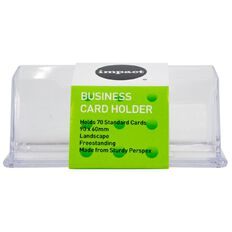 Impact Business Card Holder Free Standing Landscape Single