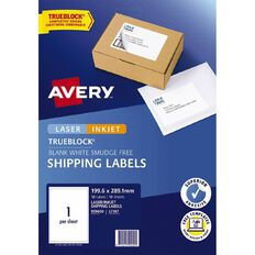 Avery Internet Shipping Labels 10 Pack 1 Per Sheet