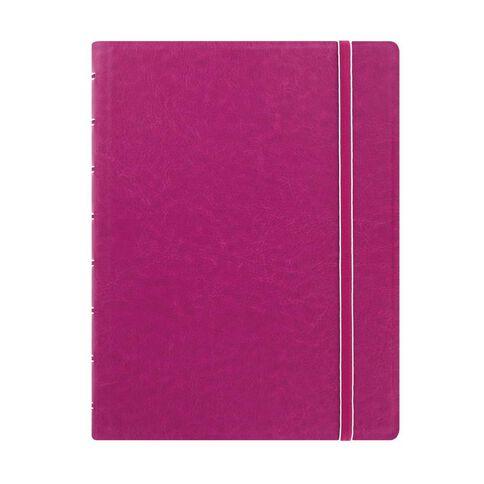 Filofax Refillable Notebook Fuchsia A5