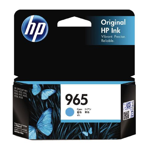HP Ink 965 Cyan (700 Pages)
