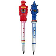 Novelty Pen Robots Assorted