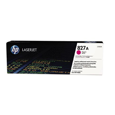 HP 827A Magenta Contract LaserJet Toner Cartridge (32000 Pages)