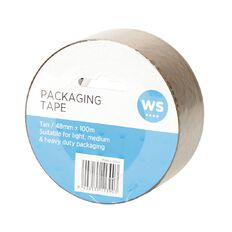 WS Packaging Tape PP 48mm x 100m Tan