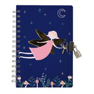 Kookie Enchanted Notebook With Lock Navy A5