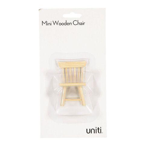 Uniti DIY Wood Mini Chairs