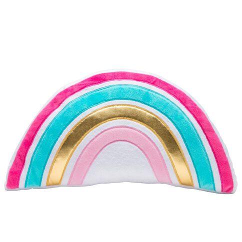 Kookie Rainbow Cushion Pink