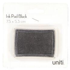 Uniti Ink Pad 7.5cm x 5.3cm Black
