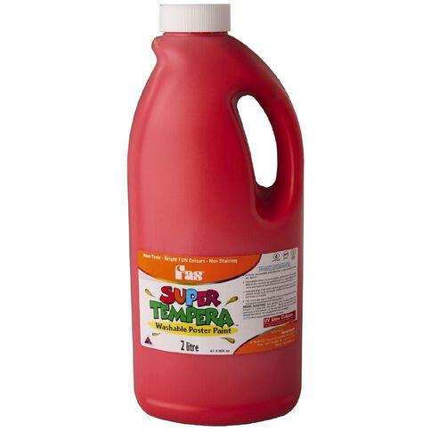 FAS Paint Super Tempera 2L Brillant Red Red 2L