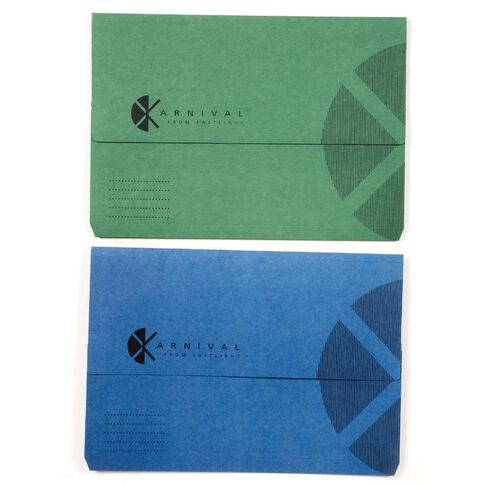 Eastlight Karnival Slimpick Wallet Assorted A4