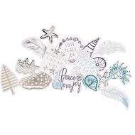 Uniti Summer Yule Die Cut Shapes 69 Pieces