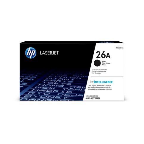HP Toner 26A Black (3100 Pages)