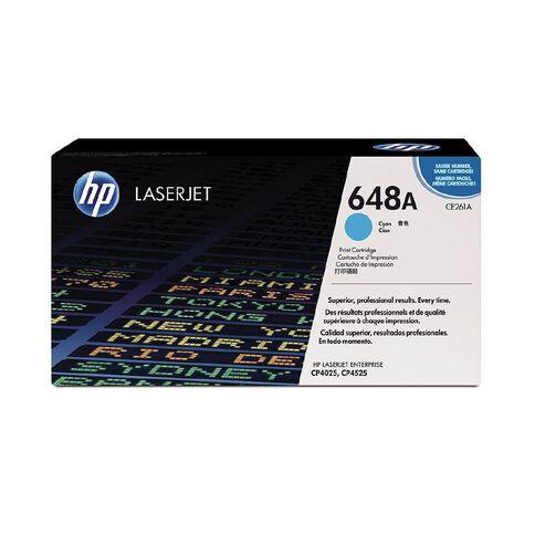 HP 648A Cyan Contract LaserJet Print Cartridge (11000 Pages)