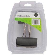 Impact Foldback Clips 50mm 2 Pack
