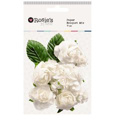 Rosie's Studio Paper Bouquet Mix 11 Piece Assorted