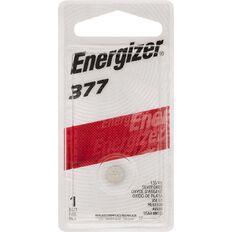 Energizer Silver Oxide Watch Battery 377BP1 1.5 Volt