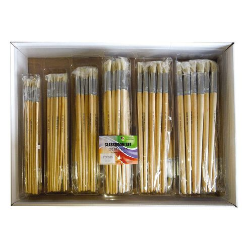 Fivestar Chinese Bristle Round 582 Brush Classroom 144 set