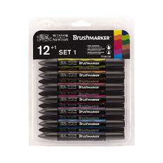 Winsor & Newton Promarker Brush Vibrant Tones Set 12