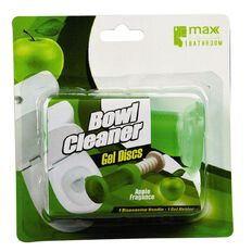 Maxclean Max Brand Toilet Cleaning Gel w Dispenser Apple 6s