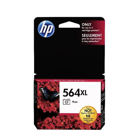 HP Ink 564XL Photo Black (290 Pages)