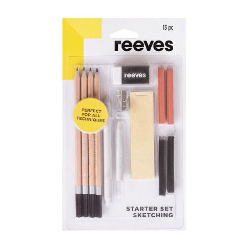 Reeves Sketching Starter Set 13 Piece