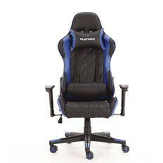 Playmax Elite Gaming Chair Blue & Black