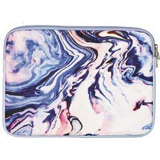 Positivity Notebook Sleeve 11in Swirl Blue