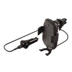 Belkin BoostCharge 10W Wireless Vent Mount Car Charger Black
