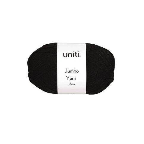 Uniti Yarn Jumbo 8 Ply 300g Black