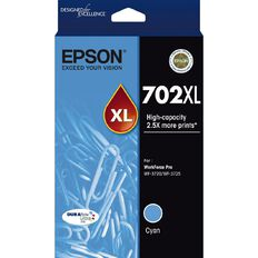 Epson 702XL DURABrite Ink Cyan (950 Pages)