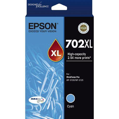 Epson 702XL DURABrite Ink Cyan (950 Pages)