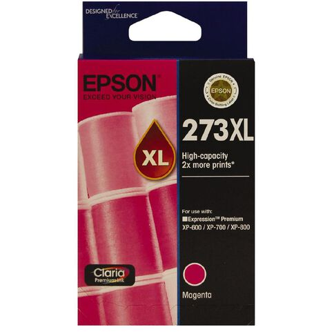 Epson Ink 273XL Magenta (650 Pages)