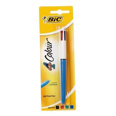 Bic 4 Colour Pen 1 Pack