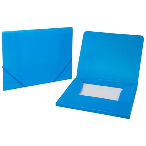 WS Wallet PP Elastic Blue A4