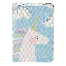 Kookie Unicorn Notebook Plush A5