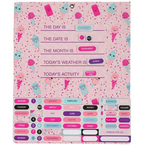Kookie Activity Calendar