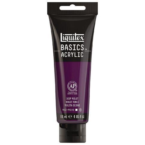 Liquitex Basics Acrylic 118ml Deep Violet