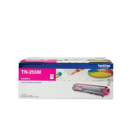 Brother Toner TN255 Magenta (2200 Pages)