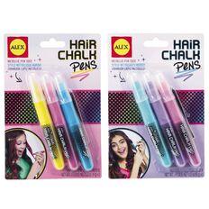 ALEX Hair Chalk Pens Metallic Multi-Coloured