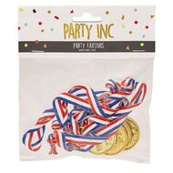 Party Inc Party Favours Winner Medal 5 Pack