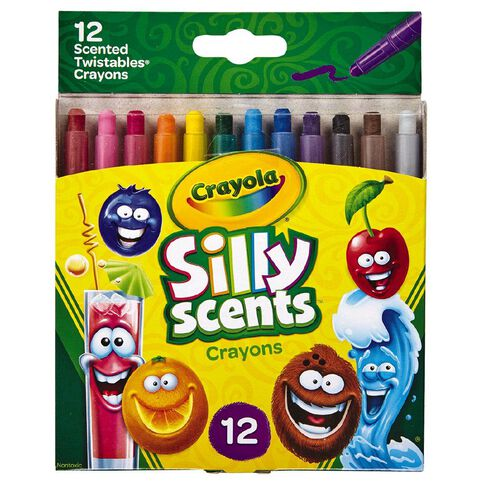 Crayola Silly Scents Mini Twistables Crayons 12 Pack
