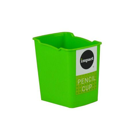 Impact Pencil Cup Green