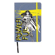 Wonder Woman Denim Notebook Powerful A5