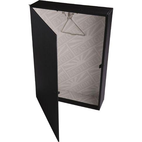 Eastlight Colorado Lever Arch Box Foolscap Black