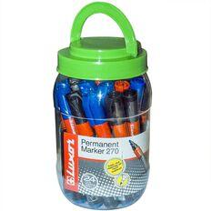 Luxor Marker Bullet Tip 24 Pack Multi-Coloured