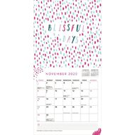 BrownTrout 2020 Square Wall Calendar Summer Daze & Happy Phrases