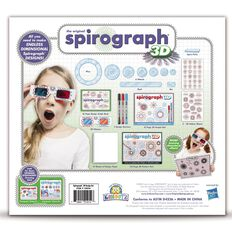 Spirograph 3D Kit Multi-Coloured